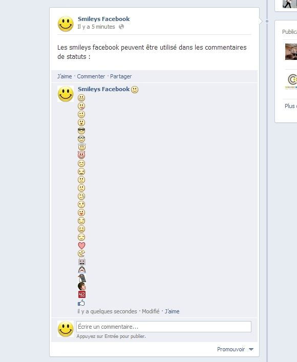 smileys-facebook-wall